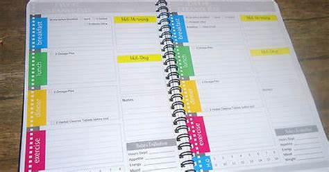 detailed day planner advocare 24 day challenge and herbal cleanse planner