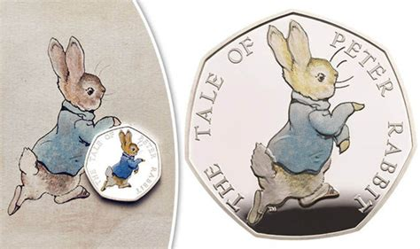 Kazel Bodysuit Rabbit Editon beatrix potter 50p coin how to get a rabbit 50p coin from the royal mint