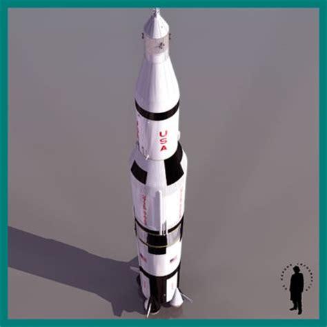 apollo saturn v model apollo saturn v rocket 3d model max cgtrader