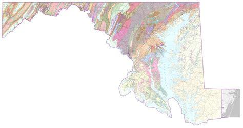 maryland geologic map geologic map of maryland