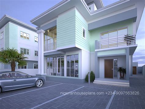 House Designs Floor Plans Nigeria Nigerianhouseplans Your One Stop Building Project