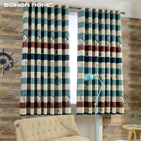 nautical stripe curtains nautical blackout curtains 10 nautical curtains that