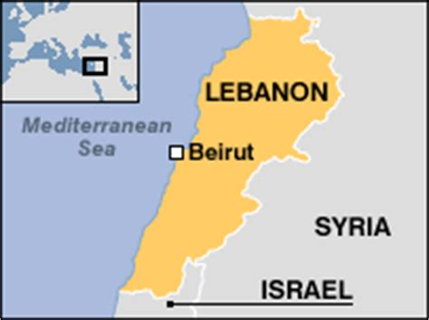 middle east map beirut news middle east us warship sails towards lebanon