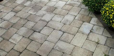 Patio Pavers Without Digging How To Install Pavers A Concrete Patio Without Mortar