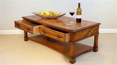walnut coffee table ghshaw ltd