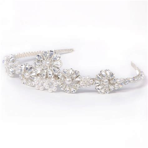 Handmade Tiaras - handmade lucille wedding tiara by rosie willett designs