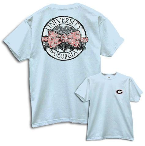 comfort colors shirts uga circle bow tie chambray comfort colors t shirt uga