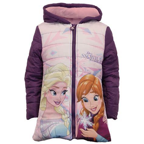 disney frozen jacket coat elsa padded