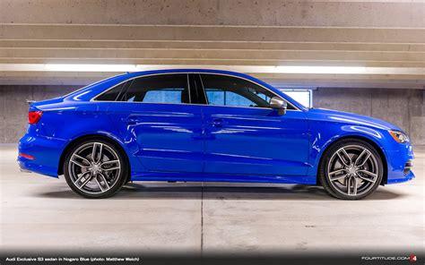 Audi S3 Exclusive by Audi Exclusive S3 Sedan In Nogaro Blue Photo Matthew