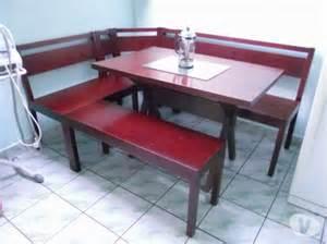 banc et table angle cuisine coin repas en clasf