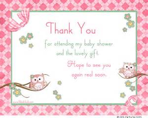 flower owl thank you card look whoo s thankful