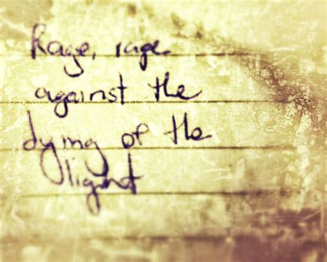 rage against the dying of the light tattoo rage rage against the dying of the light