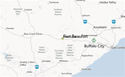 fort beaufort weather station record historical weather