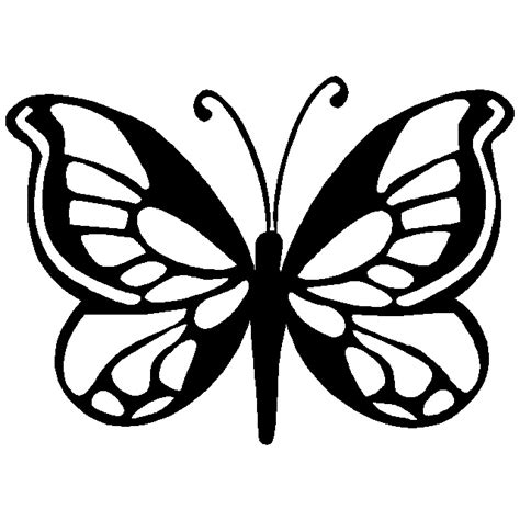 butterfly painting template butterfly stencils clipart best