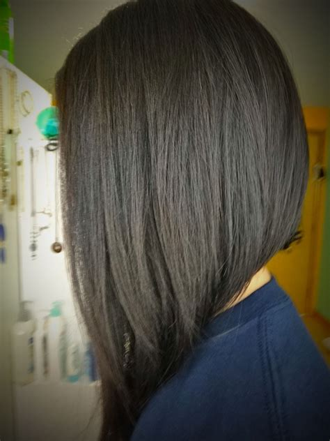 back view of mid length hair bob medium length inverted bob back view short hairstyles i
