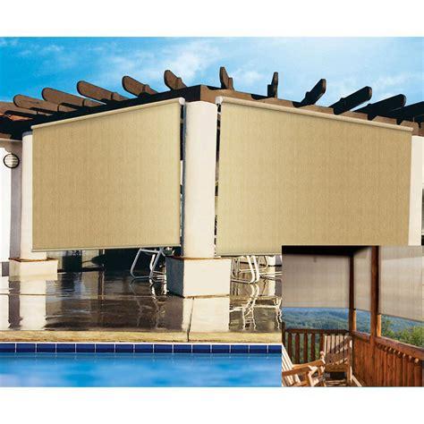 l shades 14 inches high coolaroo sun shade brackets 16 fabric exterior cordless