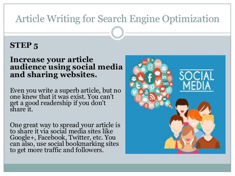 Search Engine Optimization Articles by Article Writing For Search Engine Optimization