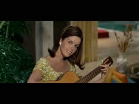 claudine longet song from the party great song from the party youtube