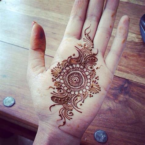 tattoo on hand round 163 best mehendi design tikka round images on pinterest