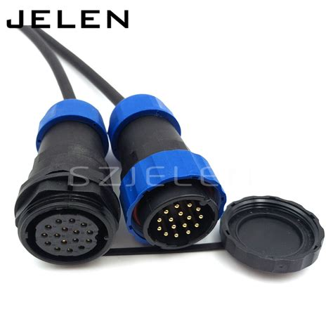 Socket And 16 Pin aliexpress buy sd28tp zm 16 pin waterproof connector ip67 industrial machinery