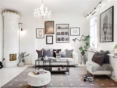 classic monochrome living room decorating with colour home staging sur mesure sur abatilles concept immo