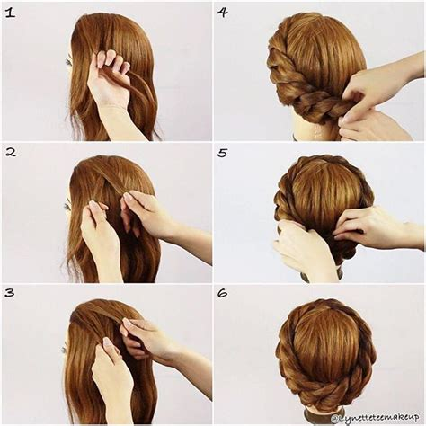 how to do the twist braid step by step pinterest the world s catalog of ideas