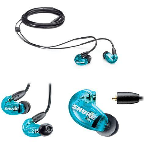 Dijamin Shure Se215 Special Edition Blue shure se215 sound isolating earphones special edition blue earphones earbuds store dj