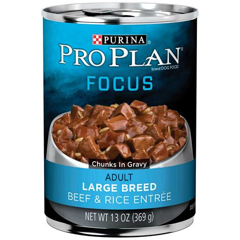 puppy food petco pro plan focus large breed canned food petco