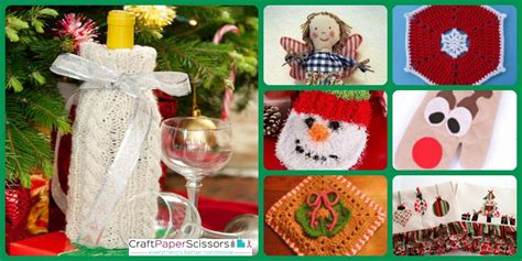 11 christmas potholder patterns and other homemade kitchen