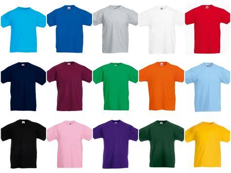 ss6b fruit of the loom value t shirt pb leisurewear