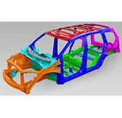 2016 Honda Pilot Body Structure – Boron Extrication