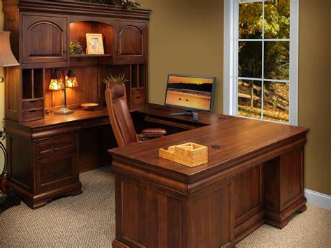 home office u shaped desk st gallen brown maple u shaped desk countryside amish