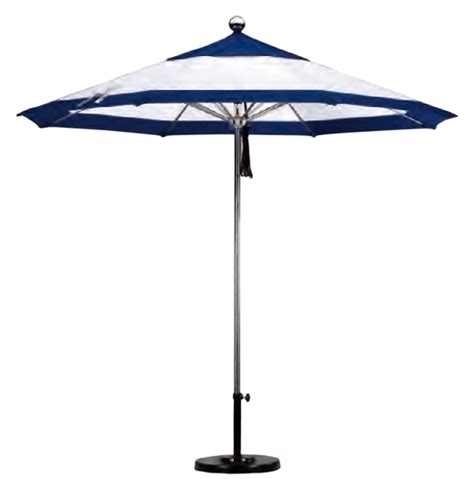 Commercial Grade Patio Umbrellas California Umbrella Stainless Steel Commercial Grade Umbrella 9 Foot