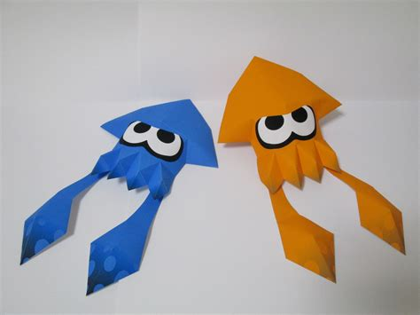 Paper Craft How To Make - splatoon papercraft 1 2 by robicraft on deviantart