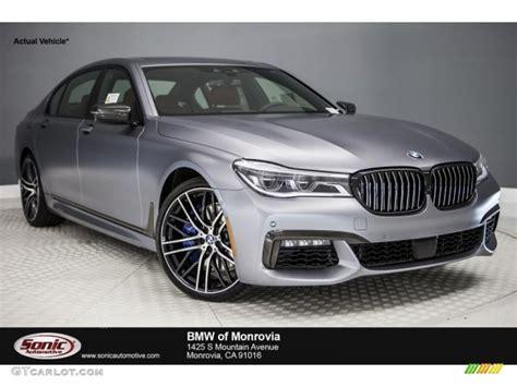 Bmw Frozen Grey by 2017 Frozen Grey Metallic Bmw 7 Series 750i Sedan