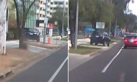 land rover canberra land rover almost runs pedestrian in canberra daily