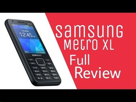 samsung b355e samsung metro xl sm b355e review