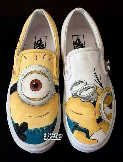 minion vans everything minion cas shoes