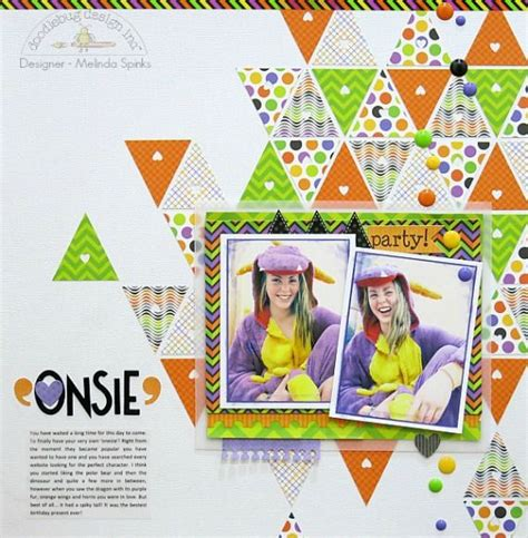 doodlebug design inc 15 best images about scrapbook triangle on