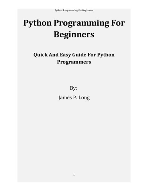 python programming for beginners learn python in one day python python for dummies python crash course books python programming for beginners