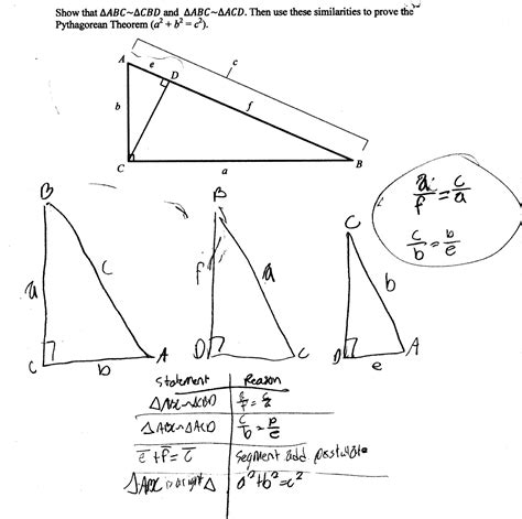 Proving Triangles Similar Worksheet by Proving Similar Triangles Worksheet Worksheets For School