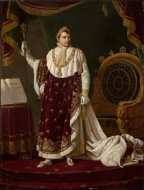 amazon com life of napoleon bonaparte volume i portrait of napoleon i in his coronation robes museum of