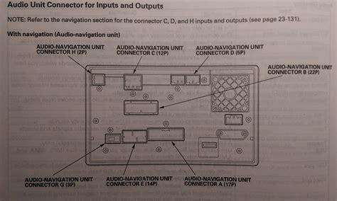 2005 honda accord navigation wiring diagram wiring