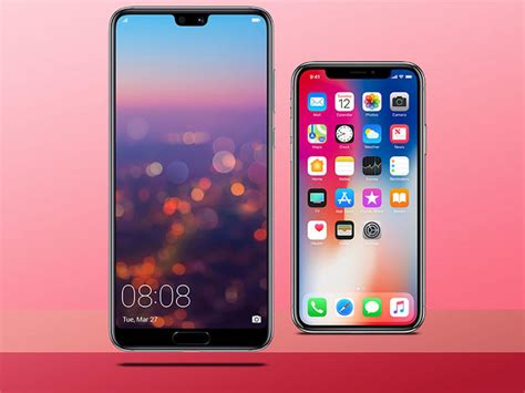 huawei p20 pro vs iphone x gocustomized deutschland