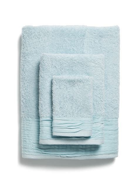 light blue bath towels light blue pleated towel set everything turquoise