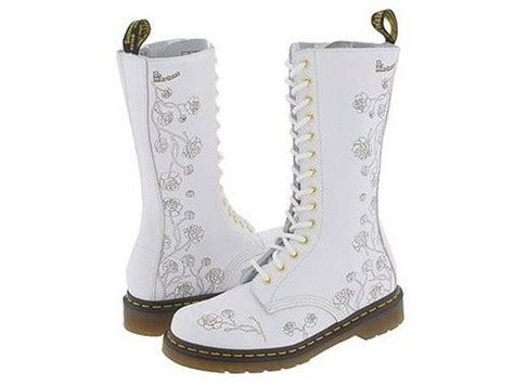 Wedding Boots by How Awesome Are These Doc Marten Wedding Boots Kudos To