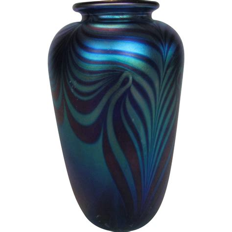 Eickholt Glass Vase by Eickholt Glass Vase In Beautiful Pulled Feather Multi