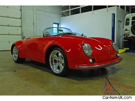 vintage porsche speedster vintage speedsters porsche 356 speedster widebody replica