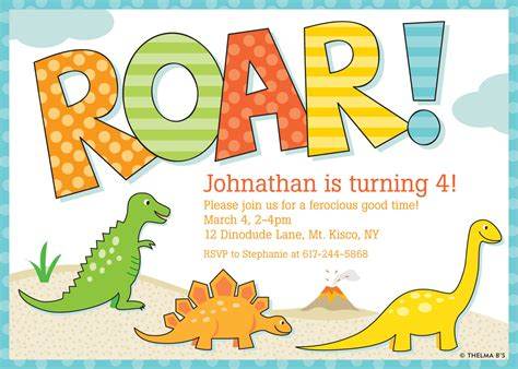 dinosaur invitation templates dinosaur invitations theruntime