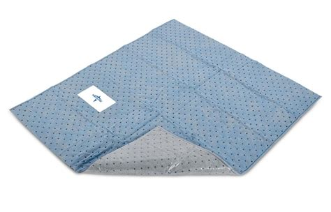 Disposable Absorbent Floor Pads - medline quicksuite impervious absorbent floor pad 46 quot x40